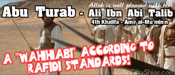 Ali Bin Abi Thalib Bisa dituduh Wahabi Oleh Rafidha [ Bagian 1]
